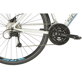 Serious Sonoran S Hybride fiets, wit